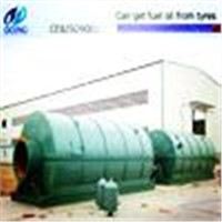 18 mm Q345R steel plate waste tire oil recycling machine
