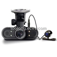 1.5inch Dual Cam GPS Car DVR camera