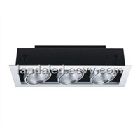 2012 New Style LED Grilled Ceiling Lamp 3*15W