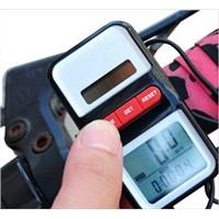 2013 New solar energy Cycling Bicycle LCD Computer Odometer Speedometer