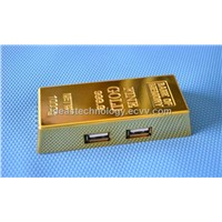 2013 New Golden Bar USB Hub