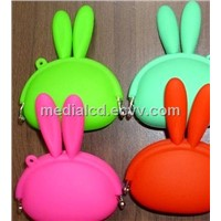 2013 Newest Cute Animal Shape Jelly Silicone Purse Wallet for Ladies