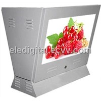 22 inch gas/fule/petrol station semi-outdoor advertising display,digital signage screen