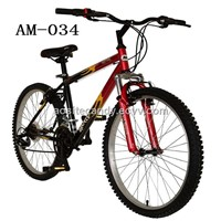 26-Inch Men's Bike, Red and Black