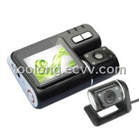 2.0inch LCD HD Dual Camera G-sensor Nightvision Car DVR