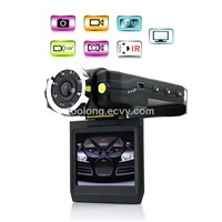 2.0inch LCD Motion Detection 8pcs IR Car DVR Recorder
