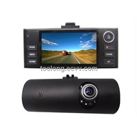 2.7inch 4XDigital Zoom Funtion Dual Cam GPS Car DVR