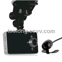 2.7inch Dual Cam Car DVR - Supporting 8 Languages