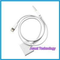30 pin to 8 pin lightning adapter cable with audio function