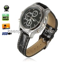 4GB 2.0 MP Pinhole Camera Waterproof Watch with Night Vision Digital Camcorder (SW1050)