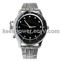 4GB Metal and Glass Construction Video Spy Camera Watch 4G(SW1008)