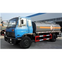 4*2 Dongfeng 11CBM-14CBM Medium Scale Fuel Tank Truck