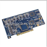 4-layer PCB with ENIG/Gold Finger Surface Finish, 1.6mm Board Thickness