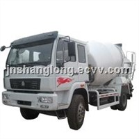 4x2 HOWO Diesel Small Concrete Mixer Truck
