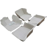 5D leather car floor liner