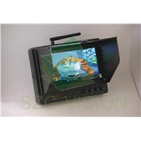 5.8ghz 7inch Mini Battery Operated Wireless LCD Monitor 250cd/m2
