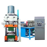 630T hydraulic press bricks machine