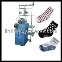 6F full automatic socks machine sock knitting machines socks making machine