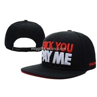 6 Panel Obey Style Vogue Customized Sticket Snapback Hat
