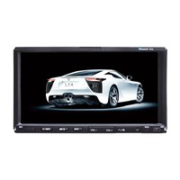 7 inch double din car dvd with gps