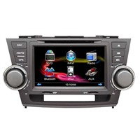 8 inch car dvd player for toyota highlander