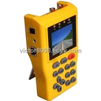 ADVANCED  HANDHELD CCTV PROJOJECT USING TESTER