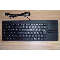 Industrial plastic keyboard/keypad with touch board D-87H