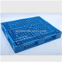 Blow Molding Blow Molding Plastic Pallet Supports Heavy Loading, Measures 1200*1000*150 mm