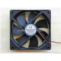 Brushless Cooling DC 12v Fan 120x120x25mm Two Ball Seaving