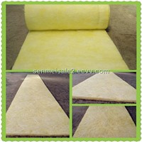 CE approved glass wool roofing heat insulation building material