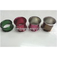 CNC custom aluminum pipe,oxidation kinds of colours,can small orders