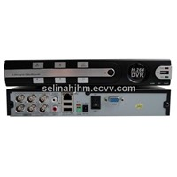 China 4CH video Input 1CH Audio Input DVR Digital video recorder