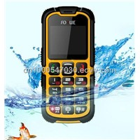 China Shenzhen Outdoors Unlocked Rugged IP67 Waterproof  phone with CE, ROHS