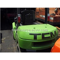 China Used Green Forklift TCM 3Tons