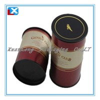 Round tea tin box/coffee tin /XL-50525
