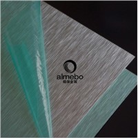 Color Coated Aluminum brushed surface