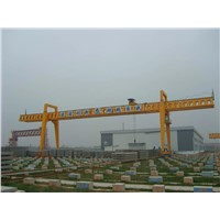 Double girder gantry cranes for precast girder lifting