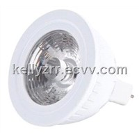 Energy saving Lamp Dimmable  85Ra 5w led cob sportlight bulb mr16 with  3 years warranty