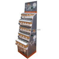 Energy-Saving Lamps Products of Paper Display Shelf 2