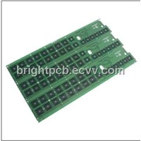 FR4 PCB with Lead-free HASL, Carbon Ink Printing