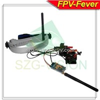 4613 Fv01 Wireless FPV Video Glasses with Head Track Function