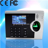 Fingerprint scanner time attendance machine supports