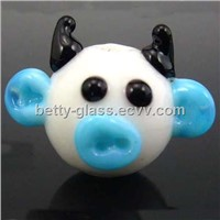 Glass Small Animal, Glass Figurine, Glass Beads Pendant