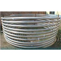 Gr2 ASTM B338 Heat Exchanger Titanium Coil Pipe