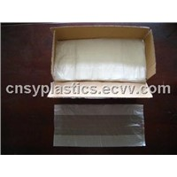 HDPE transparent Plastic Flat food bag