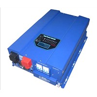 HPV pure sine wave inverter 8k-12k 48v 230v with 40a solar charger controller