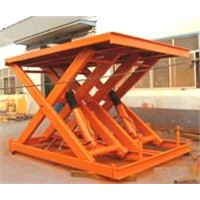 Heavy-weight scissor lift platform