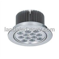 High Bright Commercial White LED Ceiling Lamp LED312A-12W