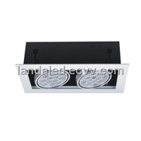 High Power LED Ceiling Grille Lamp 24W