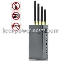 High Power Portable Signal Jammer for GPS, Mobile , Phone WiFi SJ8012